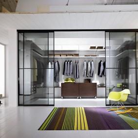 раздвижные двери для гардеробной фото идеи