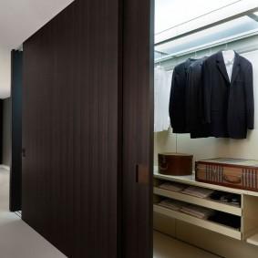 раздвижные двери в гардеробную декор