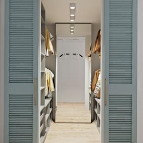 раздвижные двери в гардеробную идеи