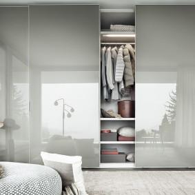 раздвижные двери в гардеробную идеи интерьера
