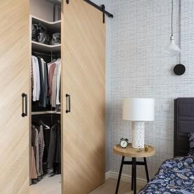 раздвижные двери в гардеробную оформление фото