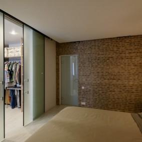 раздвижные двери в гардеробную оформление идеи