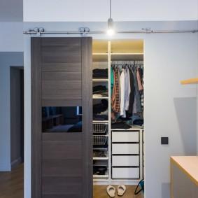 раздвижные двери в гардеробную идеи оформление
