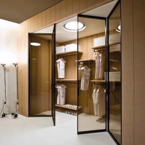раздвижные двери в гардеробную идеи варианты
