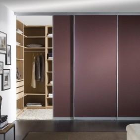 раздвижные двери в гардеробную виды фото