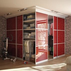 раздвижные двери в гардеробную обзор