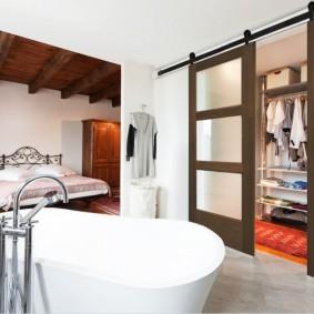 раздвижные двери в гардеробную дизайн