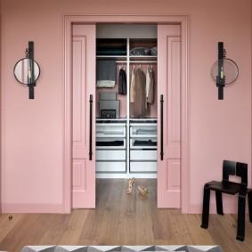 раздвижные двери в гардеробную дизайн фото