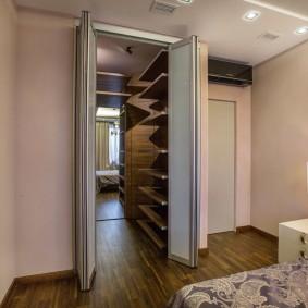раздвижные двери в гардеробную фото дизайна