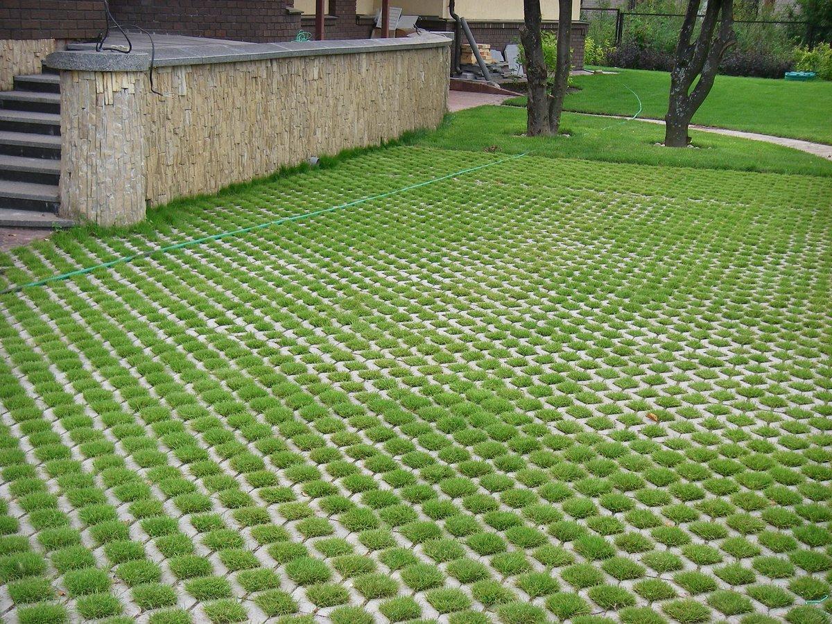 решетки для газонов