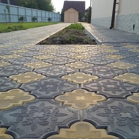 садовая плитка для дорожек фото