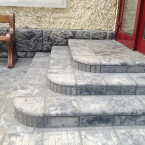 садовая плитка для дорожек оформление