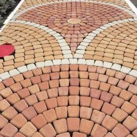 садовая плитка для дорожек мозаика