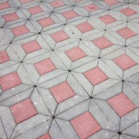 садовая плитка для дорожек фото оформление