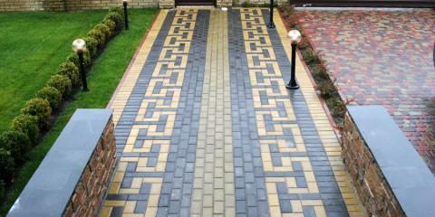 садовая плитка для дорожек варианты