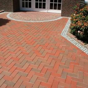 садовая плитка для дорожек дизайн