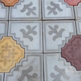 садовая плитка для дорожек дизайн фото