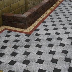садовая плитка для дорожек фото дизайн