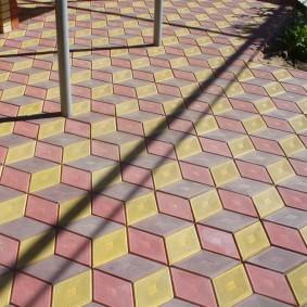 садовая плитка для дорожек фото видов