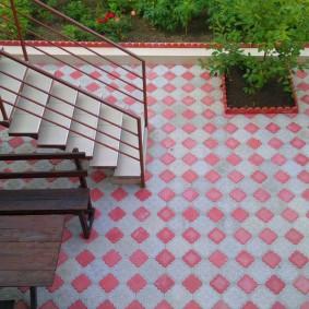 садовая плитка для дорожек фото дизайна