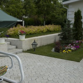 садовая плитка для дорожек дизайн идеи