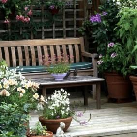 садовая скамейка идеи