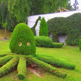 садовые фигуры для дачи фото декора