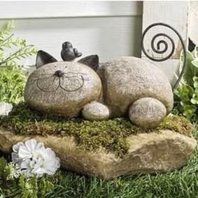 садовые фигуры для дачи фото оформления