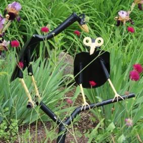 садовые фигуры для дачи оформление идеи