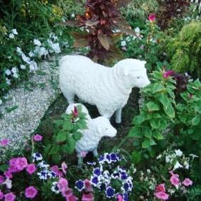 садовые фигуры для дачи фото варианты
