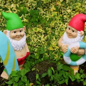 садовые фигуры для дачи идеи