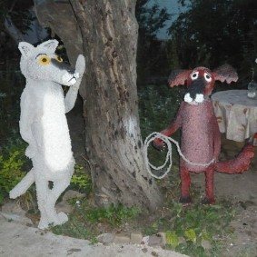 садовые фигуры для дачи виды декора