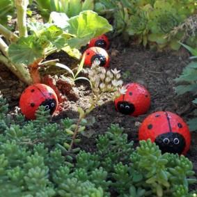 садовые фигуры для дачи виды оформления