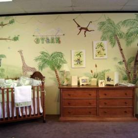 комната для новорожденного виды оформления