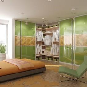 шкаф купе для спальни декор идеи