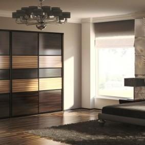 шкаф купе для спальни идеи декор