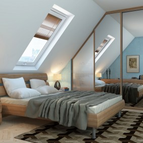шкаф купе для спальни фото интерьер