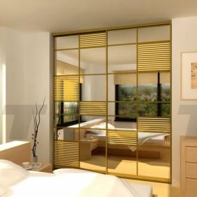 шкаф купе для спальни фото интерьера