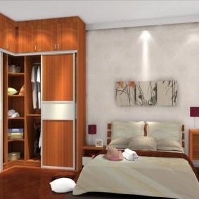 шкаф купе для спальни виды дизайна