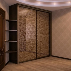 шкаф купе для спальни виды декора