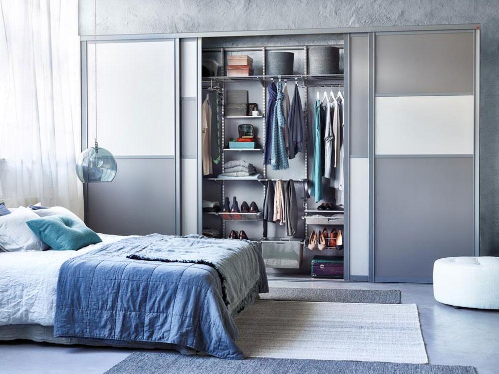 шкаф купе в спальню наполнение