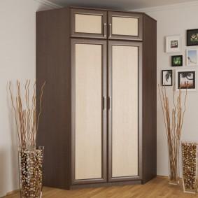 шкаф с распашными дверями в прихожую