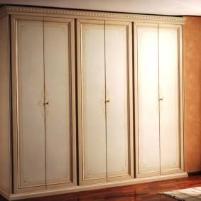 шкаф с распашными дверями в прихожую идеи дизайн