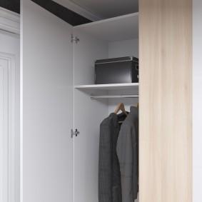 шкаф с распашными дверями в прихожую идеи интерьер