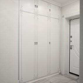 шкаф с распашными дверями в прихожую идеи оформление