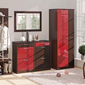 шкаф с распашными дверями в прихожую идеи вариантов