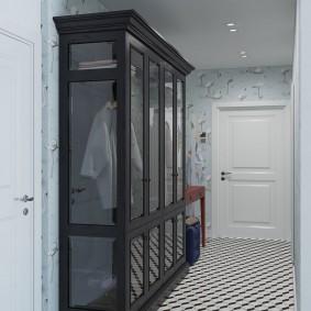 шкаф с распашными дверями в прихожую фото идеи