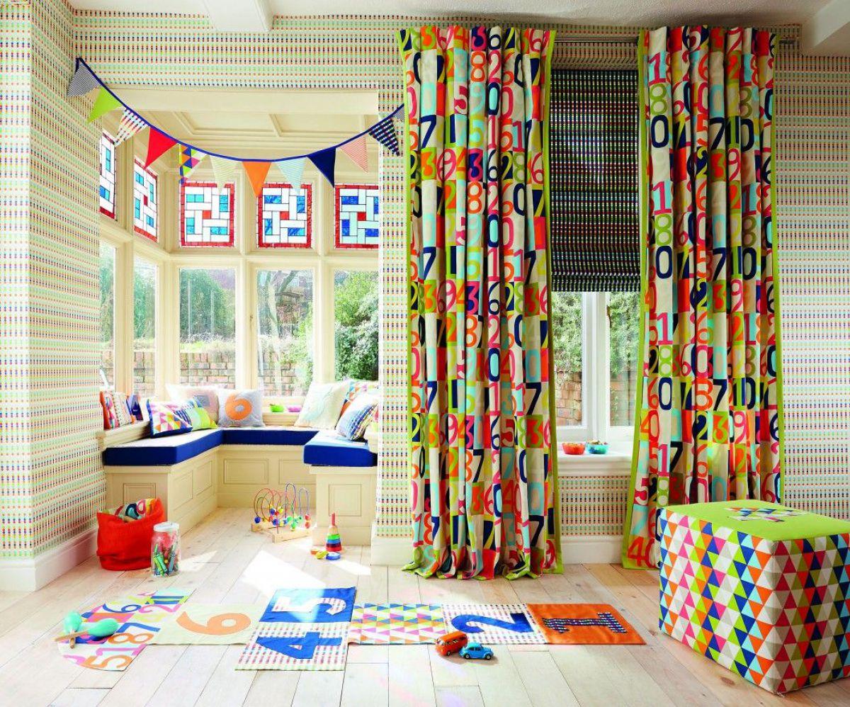 шторы для деткой комнаты