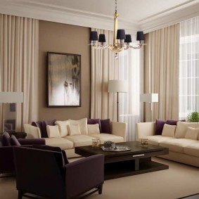 шторы для гостиной идеи дизайн
