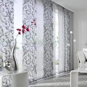 шторы для гостиной декор фото